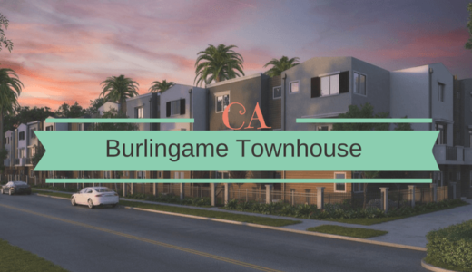 シリコンバレーのベッドタウン、バーリンゲーム市のタウンハウスへの投資案件