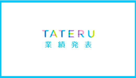 TATERU第3四半期&連結業績予想を発表。下方修正だが今現在の予測が強気に感じる