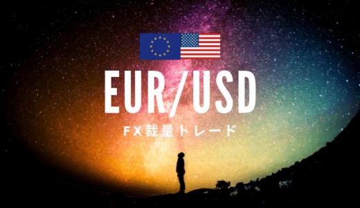 【2019.3.19】EUR/USDトレードデータ【+14pips)】
