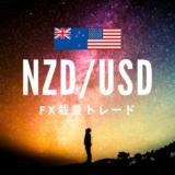 【2019.3.19】NZD/USDトレードデータ【3/20利確 +19.6pips】